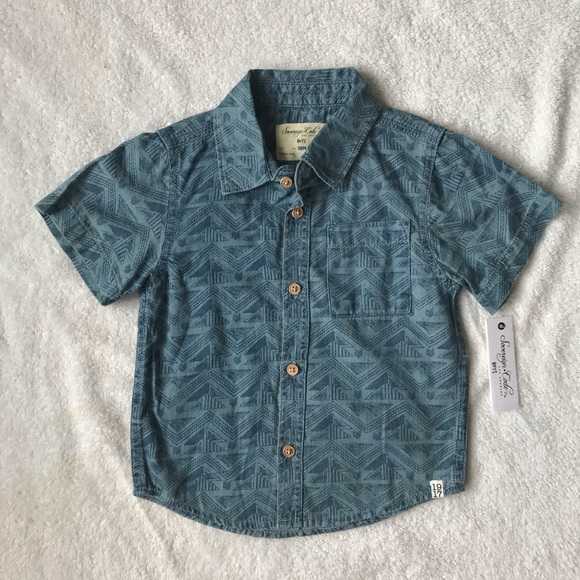 Sovereign Code Other - Sovereign Code Button Down Size 18 Months NWT
